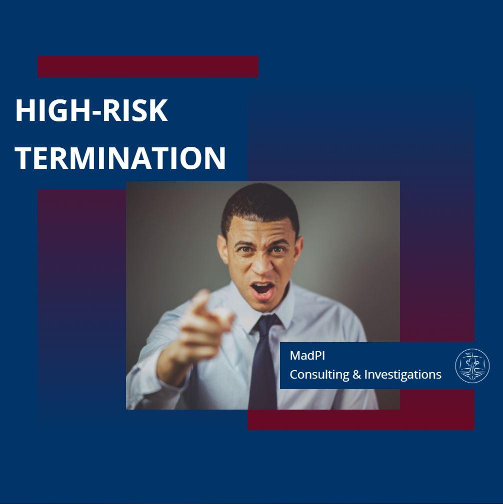 High-Risk Termination - Corporate Investigative Services