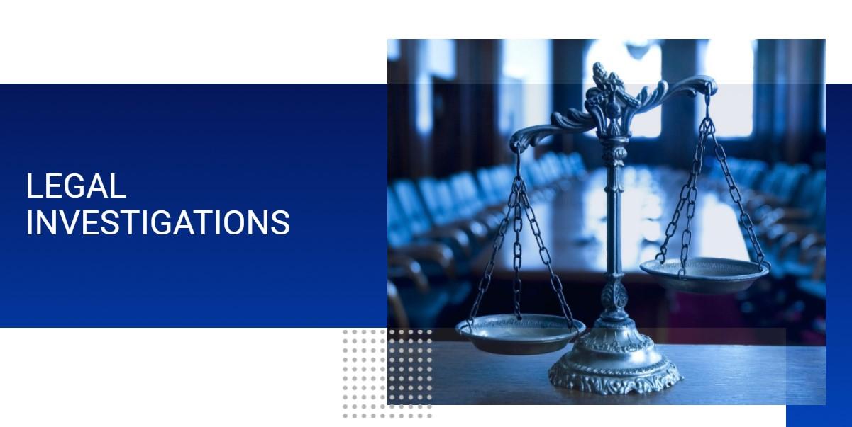 legal investigations PI