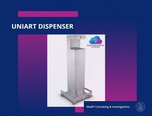 UniArt Touchless Automatic Hand Sanitizer Dispenser